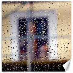 Rainy Day 12  X 12  Unframed Canvas Print