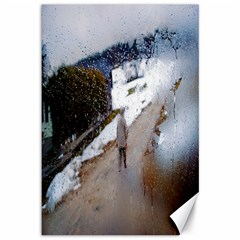 rainy day, Austria 12  x 18  Unframed Canvas Print