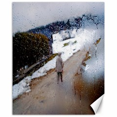 Rainy Day, Austria 16  X 20  Unframed Canvas Print