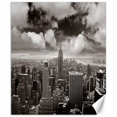New York, Usa 8  X 10  Unframed Canvas Print