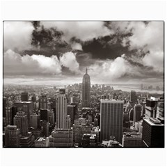 New York, USA 11  x 14  Unframed Canvas Print