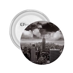 New York, USA Regular Button (Round)