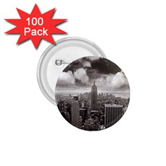 New York, Usa 100 Pack Small Button (round)