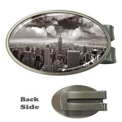 New York, USA Money Clip (Oval)