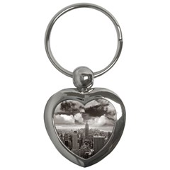 New York, Usa Key Chain (heart)