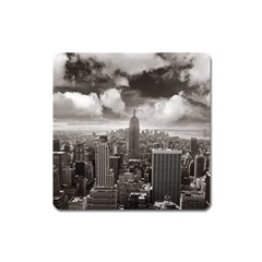 New York, Usa Large Sticker Magnet (square)
