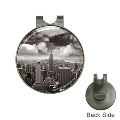 New York, USA Hat Clip with Golf Ball Marker