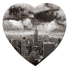 New York, Usa Jigsaw Puzzle (heart)