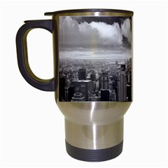 New York, USA White Travel Mug