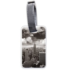 New York, USA Single-sided Luggage Tag