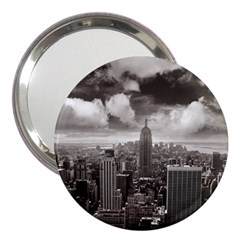 New York, Usa 3  Handbag Mirror
