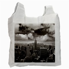 New York, USA Twin-sided Reusable Shopping Bag