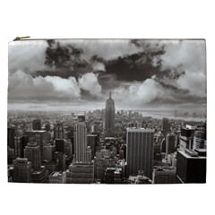 New York, USA Cosmetic Bag (XXL)