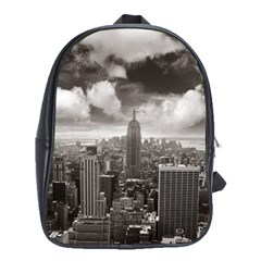 New York, Usa School Bag (xl)