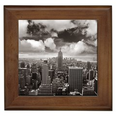 New York, USA Framed Ceramic Tile