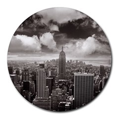 New York, USA 8  Mouse Pad (Round)