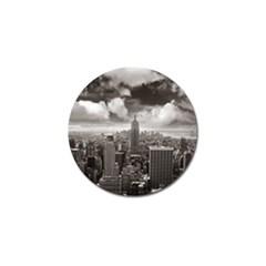 New York, Usa 10 Pack Golf Ball Marker