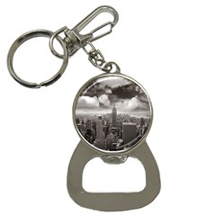 New York, Usa Key Chain With Bottle Opener