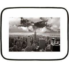 New York, USA Twin-sided Mini Fleece Blanket
