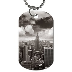 New York, Usa Single Sided Dog Tag