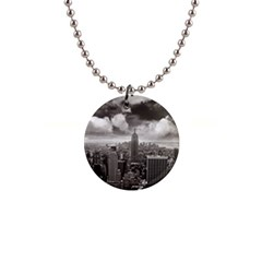 New York, Usa Mini Button Necklace