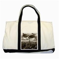 New York, Usa Two Toned Tote Bag