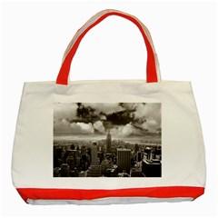 New York, USA Red Tote Bag