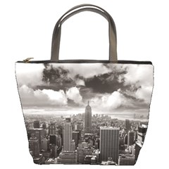 New York, USA Bucket Handbag