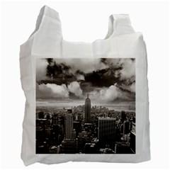 New York, Usa Twin Sided Reusable Shopping Bag