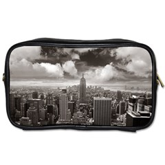New York, Usa Twin Sided Personal Care Bag