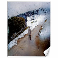 Rainy Day, Salzburg 18  X 24  Unframed Canvas Print
