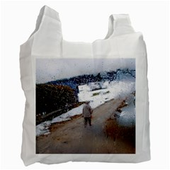 Rainy Day, Salzburg Twin Sided Reusable Shopping Bag