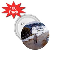 rainy day, Salzburg 100 Pack Small Button (Round)