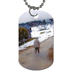 rainy day, Salzburg Twin-sided Dog Tag