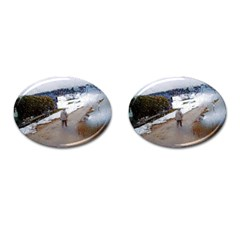 Rainy Day, Salzburg Oval Cuff Links