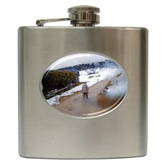 rainy day, Salzburg Hip Flask