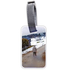 Rainy Day, Salzburg Single Sided Luggage Tag