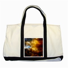 Cloudscape Two Toned Tote Bag