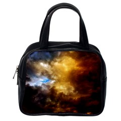 Cloudscape Single-sided Satchel Handbag