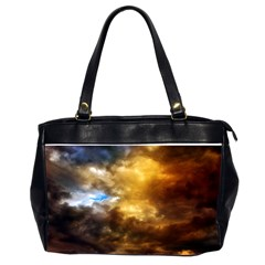 Cloudscape Twin-sided Oversized Handbag