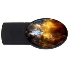 Cloudscape 1Gb USB Flash Drive (Oval)