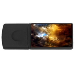 Cloudscape 4gb Usb Flash Drive (rectangle)
