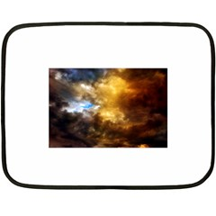 Cloudscape Twin Sided Mini Fleece Blanket