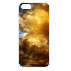 Cloudscape Apple iPhone 5 Seamless Case (White)