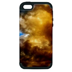 Cloudscape Apple Iphone 5 Hardshell Case (pc+silicone)