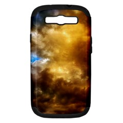 Cloudscape Samsung Galaxy S Iii Hardshell Case (pc+silicone)
