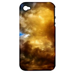 Cloudscape Apple iPhone 4/4S Hardshell Case (PC+Silicone)