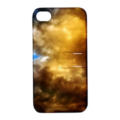 Cloudscape Apple iPhone 4/4S Hardshell Case with Stand