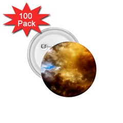Cloudscape 100 Pack Small Button (round)