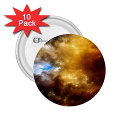 Cloudscape 10 Pack Regular Button (Round)